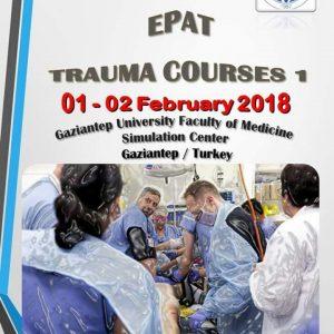 1.Travma Kursu Gaziantep Üniversitesi Tıp Fakültesi